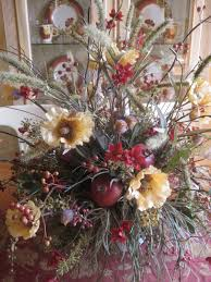 Beautiful Silk Flower Arrangements For Dining Room Table With