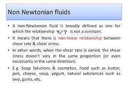 non newtonian fluid examples. non newtonian fluids fluid examples d