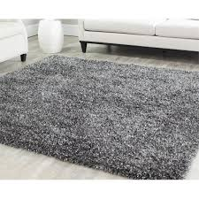 safavieh malibu 5 square hand tufted rug in charcoal