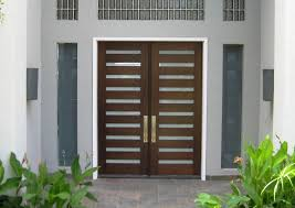 the front door companyModern Wood Door 6 x 8 mahogany Luxe 10lite Entry Door with
