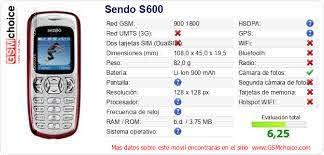 Sendo S600 :: GSMchoice ...