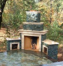 glamorous outdoor stone fireplace ideas pictures