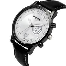 simple black leather watches 2019 classic new men watch wrist watch leather strap quartz casual watches support drop watches on watches