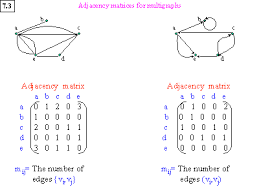Adjacency Matrices For Multigraphs