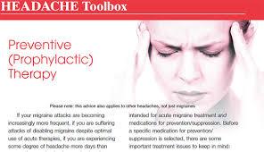 Preventive Medications Perth Headache Treatment Albany Joondalup Wa