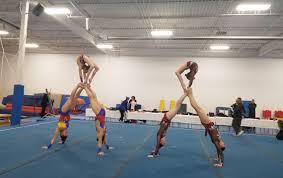 acrobatic gymnastics peive program