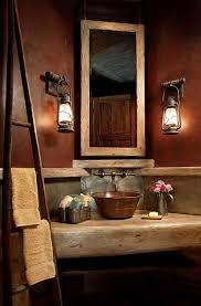rustic bathroom ideas pinterest. Simple Rustic Magnificent Rustic Bathroom Decor In Ideas  Inside Pinterest