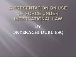 law use of force essay international law use of force essay
