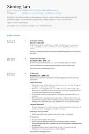 Sample Resume For College Internship Adorable Trainee Resume Samples VisualCV Resume Samples Database