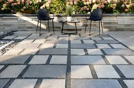 comparing stamped concrete vs pavers