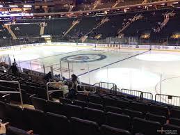 Madison Square Garden Section 109 New York Rangers