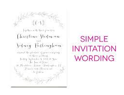 Wedding Invitation Language Formal How To Write A Formal Wedding