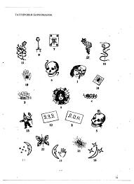 татуировки у наркоманов и их смысловое значение новости