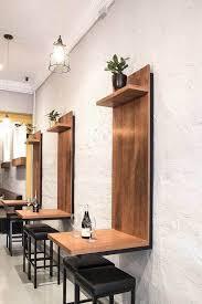 Restaurant Design Ideas Coger La Idea De La Mesa Para El Espejo Y La Mesita De La Barberia