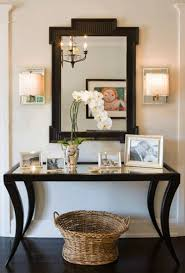 cheap foyer tables. Hanging A Mirror Above Table In Foyer Home Hallway Entryway Tables Images On Spaces You Didnt Cheap