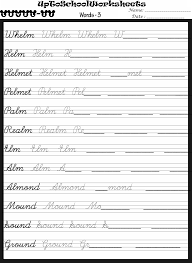 Collections of English Cursive Writing Worksheets, - Easy ...