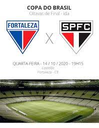 Fortaleza x São Paulo: veja onde assistir, escalações, desfalques e  arbitragem   copa do brasil