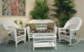 patio white wicker patio furniture outdoor set chairs armchairs rattan table with amazing clearance and