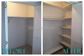 custom closet shelving a tutorial