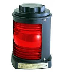 perko single lens navigation light green side light  single lens navigation light red light 1127 black plastic