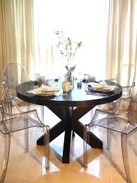 ghost chair dining room table