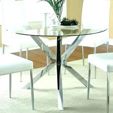 round glass table and chairs small glass table glass table set for kitchen small 4 chair