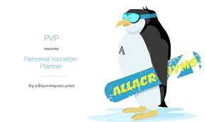 Personal Vacation Planner Pvp Personal Vacation Planner