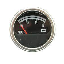 crown voltmeter gauge