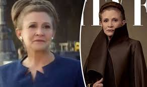 carrie fisher leia force awakens.  Force Carrie Fisher With Leia Force Awakens I