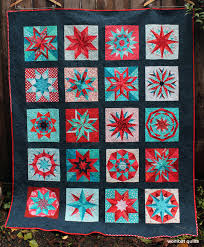A special finish…. | WOMBAT QUILTS & Red star quilt Adamdwight.com