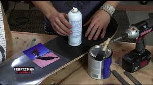 Craftsman Experience - How to Make a Skateboard Picture Frame - YouTube