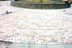of brick average cost patio per square foot paver how much to install