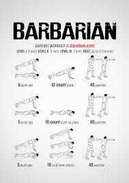 barbarian workout