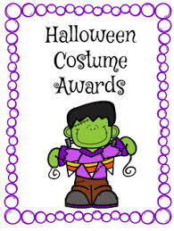 Halloween Costume Awards Halloween Costume Awards By Mrs Loomis Creative Coursework Tpt