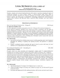 Cover Letter Resume Templates Senior Property Manager Sample