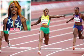 Elaine Thompson-Herah wins 100m gold in ...