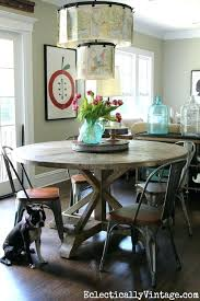 round farmhouse table and chairs farmhouse kitchen table of my dreams dining dining room and farmhouse