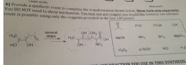 synthesis walkthrough of a sample problem master organic chemistry synth problem