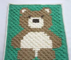 Baby Blanket Pattern Fascinating Cuddly Teddy Bear Crochet Baby Blanket Pattern AllFreeCrochet