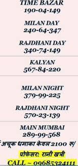 Mumbai Game Chart Get Fastest Satta Matka Result Kalyan Matka Tips Matka
