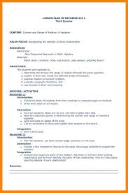 Lesson Plan Sample Brief Lesson Plan Coursework Academic Writing Service 24