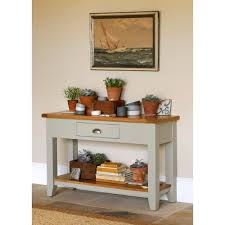 stone hall table. Caldecote Painted Hall Table, Furniture, Handmade Pottery, Herbs, Vintage Terracotta Pots Stone Table B