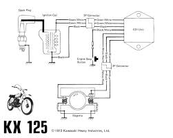 servicemanuals motorcycle how to and repair 1973 kawasaki kx 125 wiring diagram