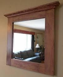 oak mirror rustic oak framed mirror