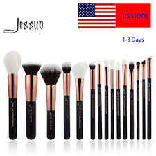 image is loading us jessup professional cosmetic brush set makeup tool