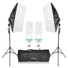 photography studio cube umbrella softbox light lighting tent kit photo equipment 2 135w bulb