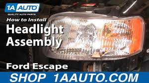 Brake Light Bulb For 2005 Ford Escape How To Replace Headlight 01 04 Ford Escape