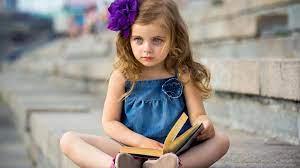 cute, Baby, Girl, Mood, Book, Child ...