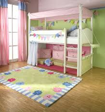 bunk bed canopies girls with fort underneath and its not too high a climb  amusing beds