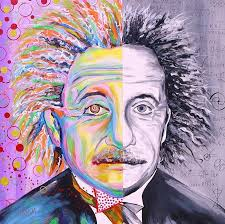 Einstein's Art and Science by Clary Meserve | Art, Science art, Science